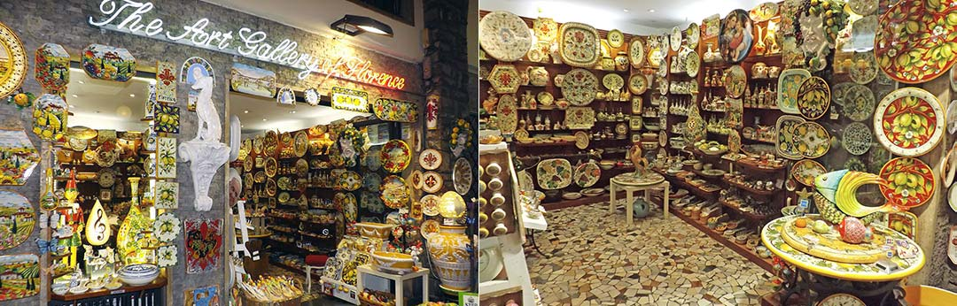 The Art Gallery - Hand painted, hand decorated Italian, Tuscan Florentine ceramics